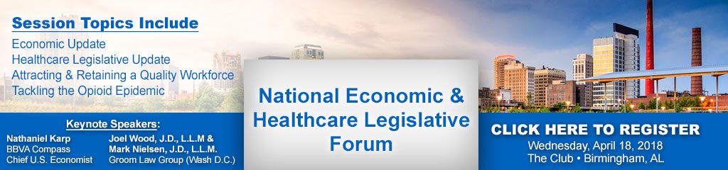 National Economic & Healthcare Legislative Forum