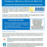 Mental Health Month Resources