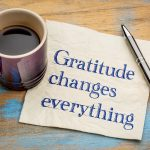 Develop an Attitude of Gratitude